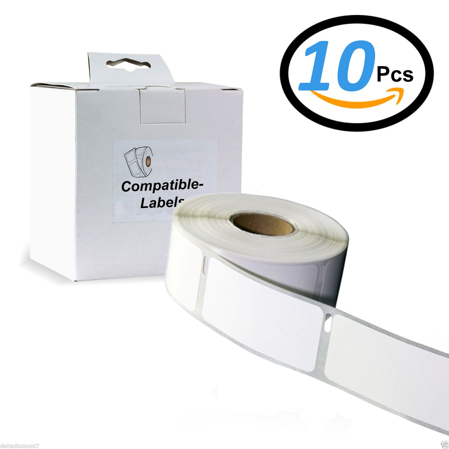 10 X Colour Direct 11354 / S0722540 Address Labels ( 57mm x 32mm ) Compatible With Dymo Label Writer And Seiko Label Printers - 1,000 Labels Per Roll 10x11354