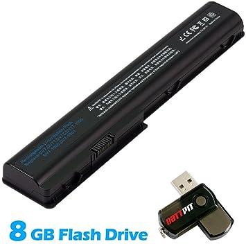 Battpit Recambio de Bateria para Ordenador Portátil HP Pavilion dv7-3180es (4400mah) Con memoria USB de 8GB GRATUITA: Amazon.es: Electrónica