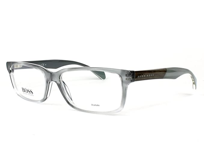 e49c648e55a6 Optical frame Hugo Boss Acetate Brushed Grey - Horn (BOSS 0914 1JX ...