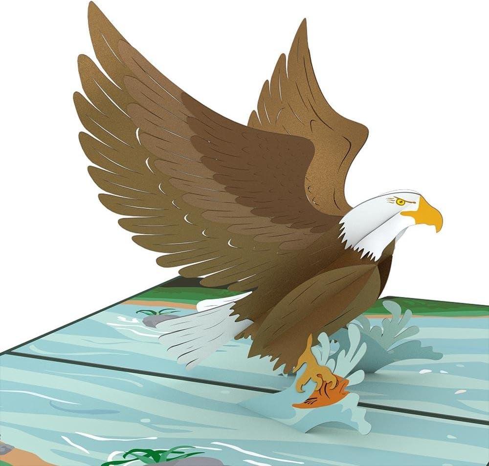 Lovepop Eagle Pop-up Card