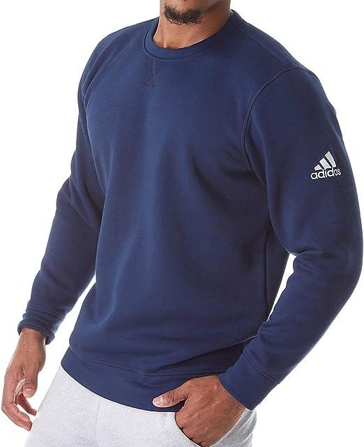 adidas fleece crew sweatshirt