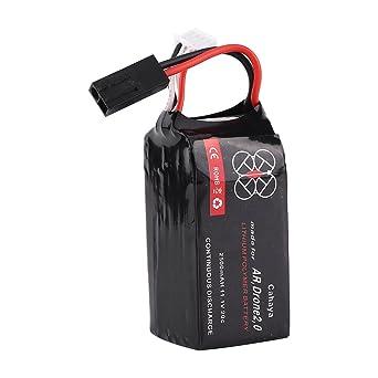 1 adaptador de batería de polímero de litio de 2500 mAh, alta tasa ...