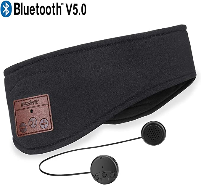 6 opinioni per Azzker Cuffie Bluetooth a fascetta per il sonno, Bluetooth V5.0 Wireless