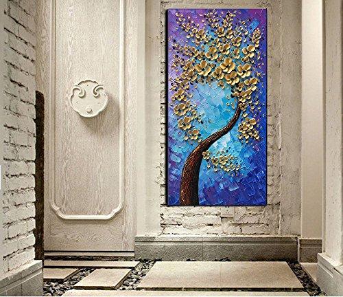 Baccow -- 3D Blossom Trees Handmade Abstract Wall Art