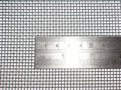 Woven Wire 10 Mesh (12''X 24'') 30cm X60cm x2mm Coarse,gauze Stainless Steel 304L 61% Open Area by YinXiang