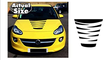 Supersticki Opel Vauxhall Adam Motorhaube Bonnet Streifen