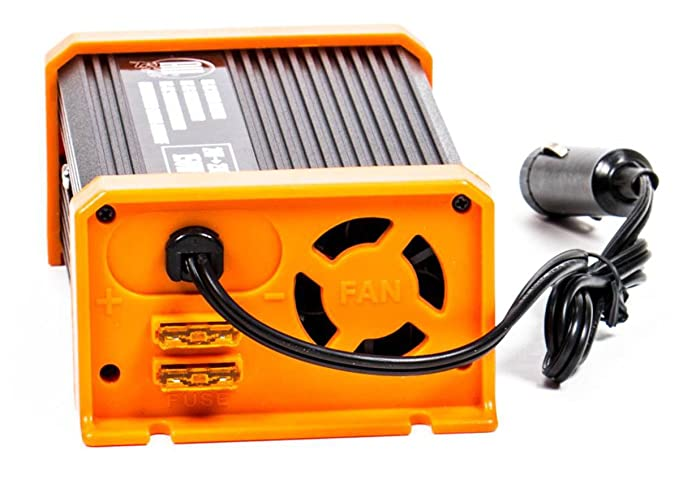 Spannungswandler mit USB-Buchse Inverter f/ür Zigarettenanz/ünder-Stecker All Ride Wechselrichter 24V auf 230V 150-300 Watt Stromwandler Schuko-Steckdose