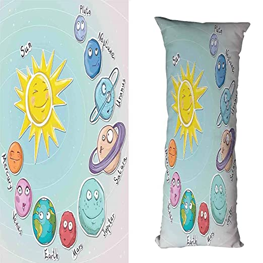 Duommhome - Funda de almohada transpirable con diseño de ...