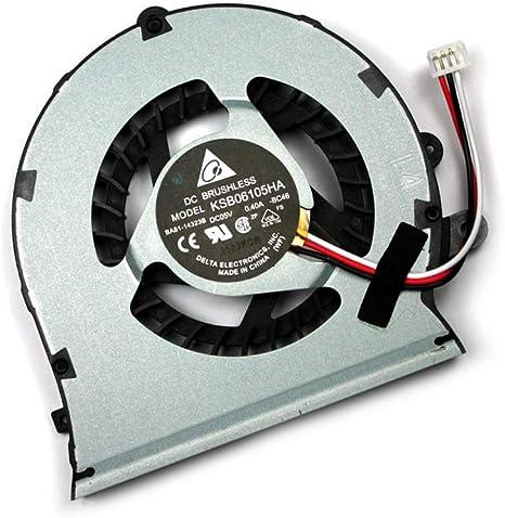 X-Comp CPU Ventilador refrigerador Fan KSB06105HA de Bc46 para ...
