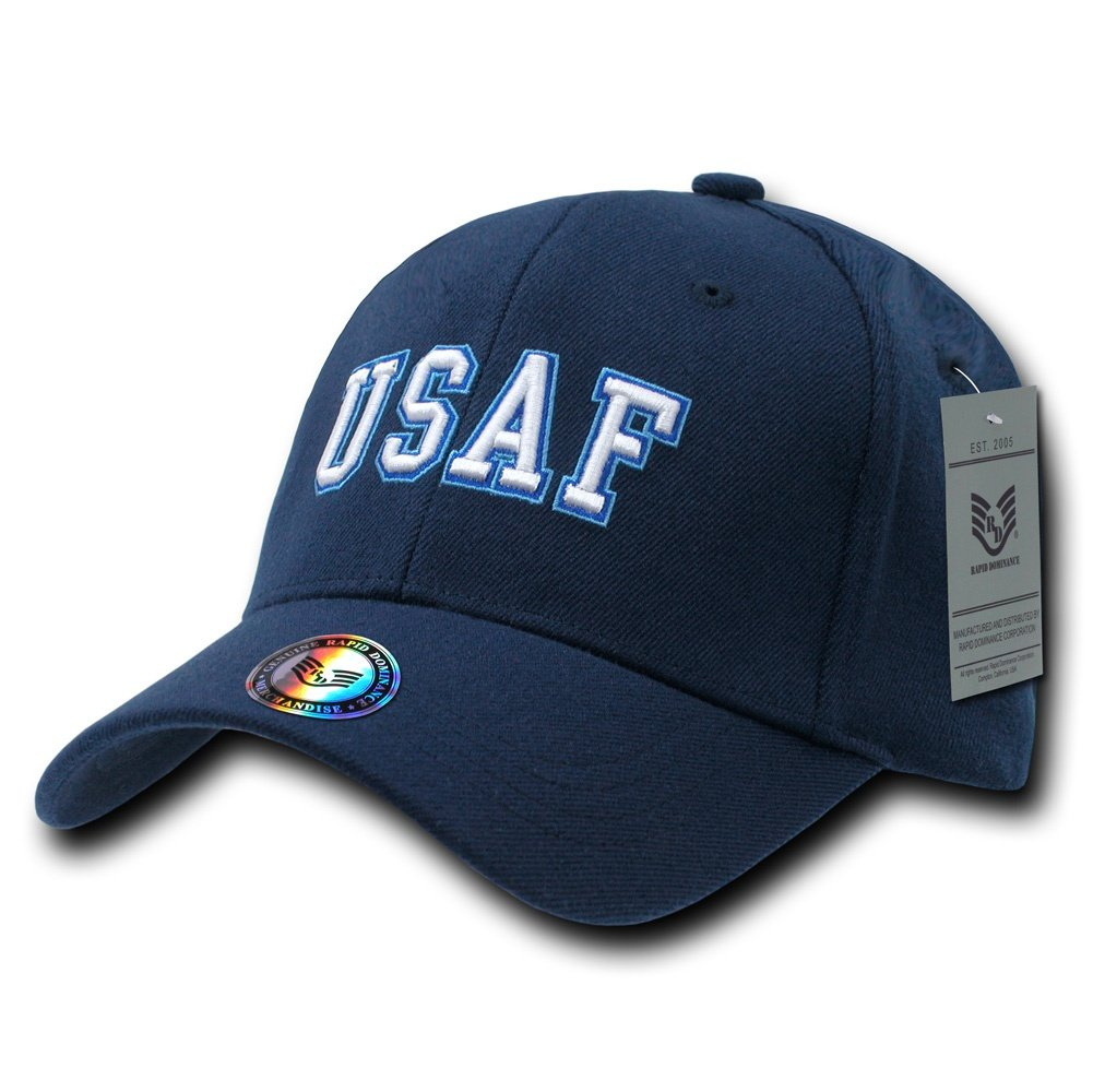Rapiddominance Air Force FitAll Flex Cap Rapid Dominance R82-AIR-NVY-06-p