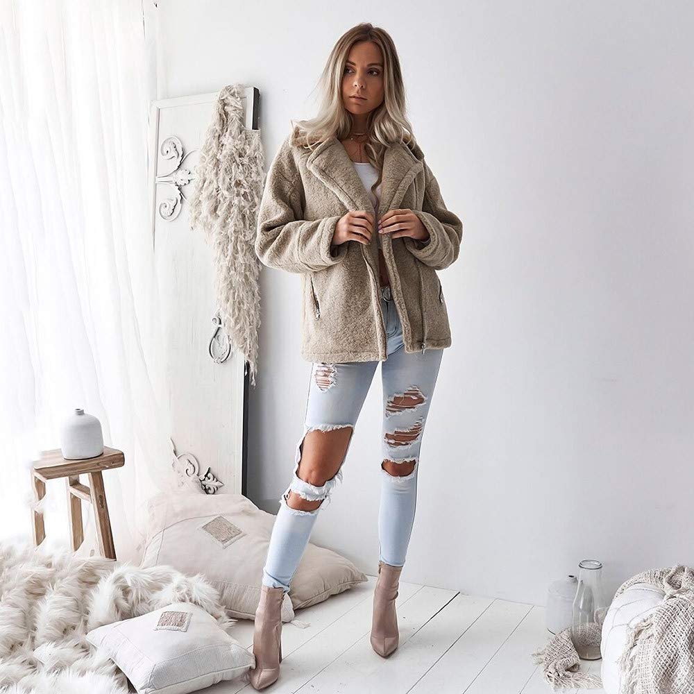 DaySeventh Womens Casual Jacket Winter Warm Parka Outwear Ladies Coat Overcoat Outercoat