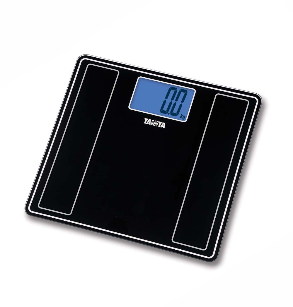 Tanita bathroom scales - Amazon Com Tanita Hd 382 Black Glass Digital Bathroom Scale By Tanita Health Personal Care