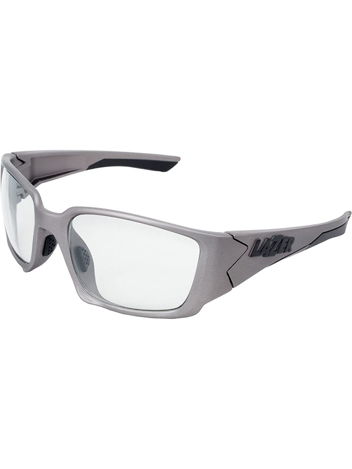 Lazer Matt Titanium-Crystal Photochromic Krypton KR1 Cycling Glasses
