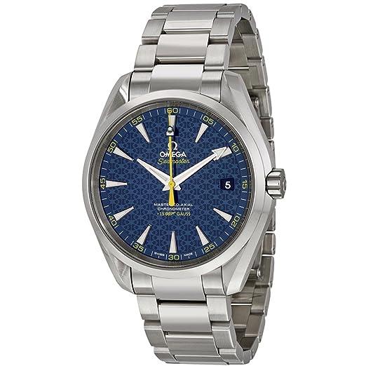 Omega Seamaster del hombre James Bond edición limitada 42 mm correa de acero reloj automático 231.10.42.21.03.004: Amazon.es: Relojes