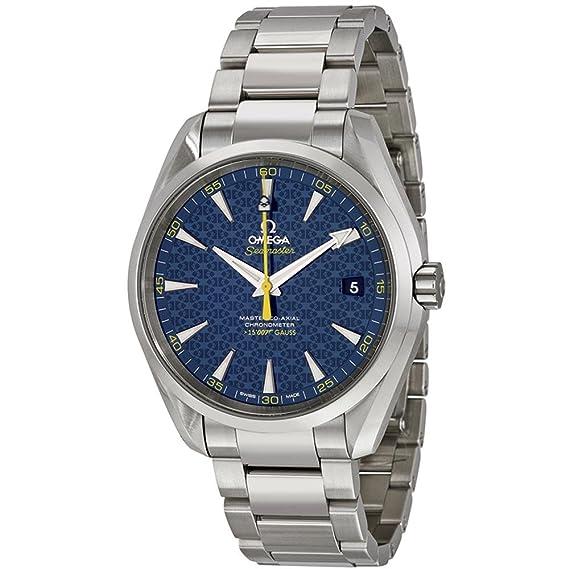 Omega Seamaster del hombre James Bond edición limitada 42 mm correa de acero reloj automático 231.10