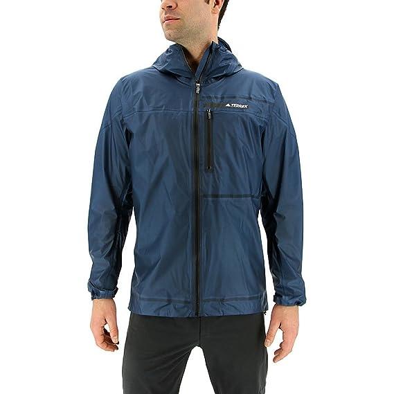 Adidas Terrex Agravic 3L Jacket Men's Hiking S Blue Night
