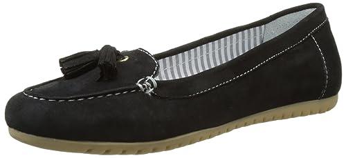 Hush Puppies Moon, Mocasines para Mujer, Negro (Noir 8), 41 EU: Amazon.es: Zapatos y complementos