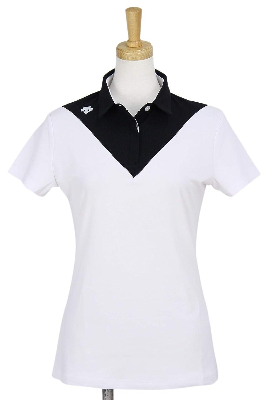 ポロシャツ レディース デサントゴルフ DESCENTE GOLF 2019 春夏 ゴルフウェア dgwnja27 L(L) ホワイト(WH00) B07Q2JH18V