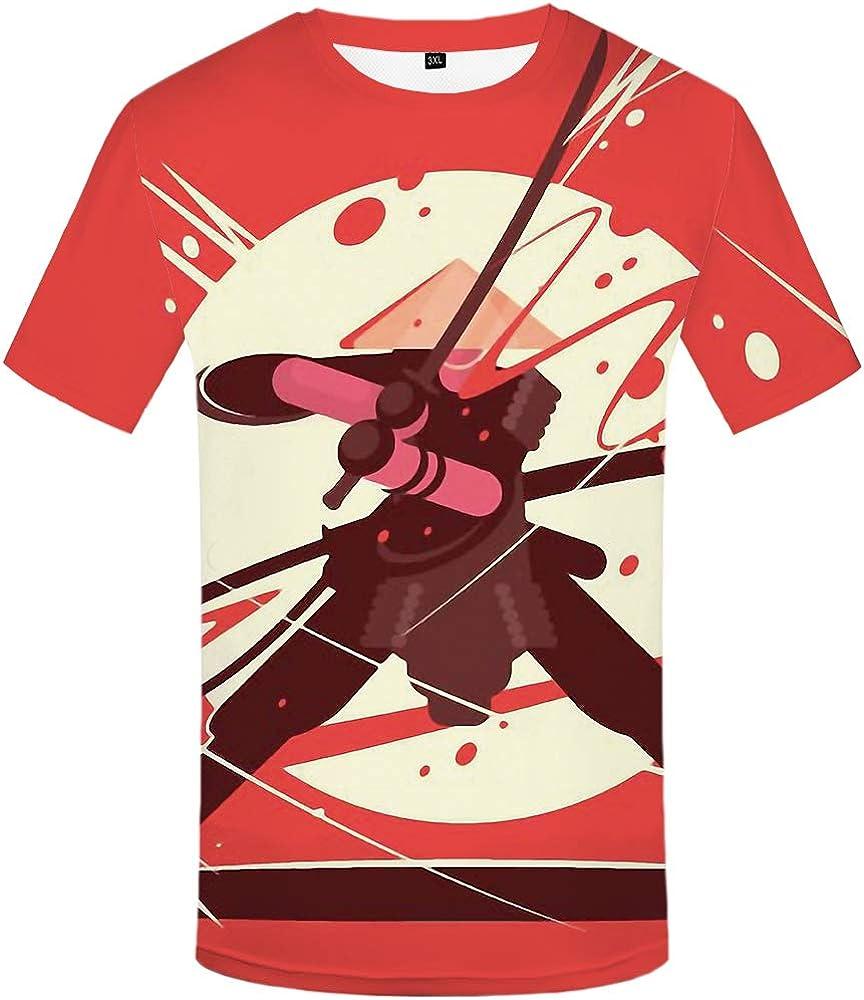 Ninja camiseta hombres guerra anime ropa luna camiseta ...