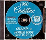 1980 CADILLAC REPAIR SHOP & SERVICE MANUAL CD - INCLUDES: DeVille, Eldorado, Seville, Fleetwood Brougham, Fleetwood Limousine, and Commercial Chassis (for Hearse, etc.) 80