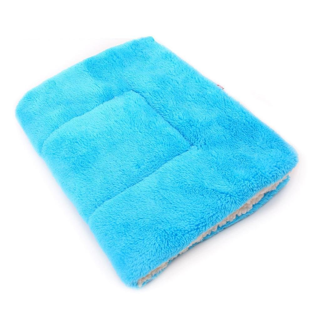 D 70x55cm D 70x55cm Lozse Pet Beds Pet blanket thickened plush nest mat dog Mattress for Dogs and Cats Sleeping Cushion