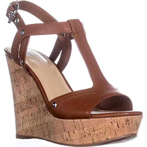1a2e0476719 Marc Fisher Womens Helma Leather Open Toe Casual Platform Sandals
