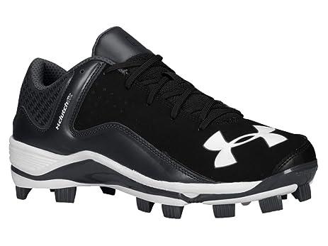 Under Armour Men's UA Yard Low TPU Baseball Cleats 8 Black