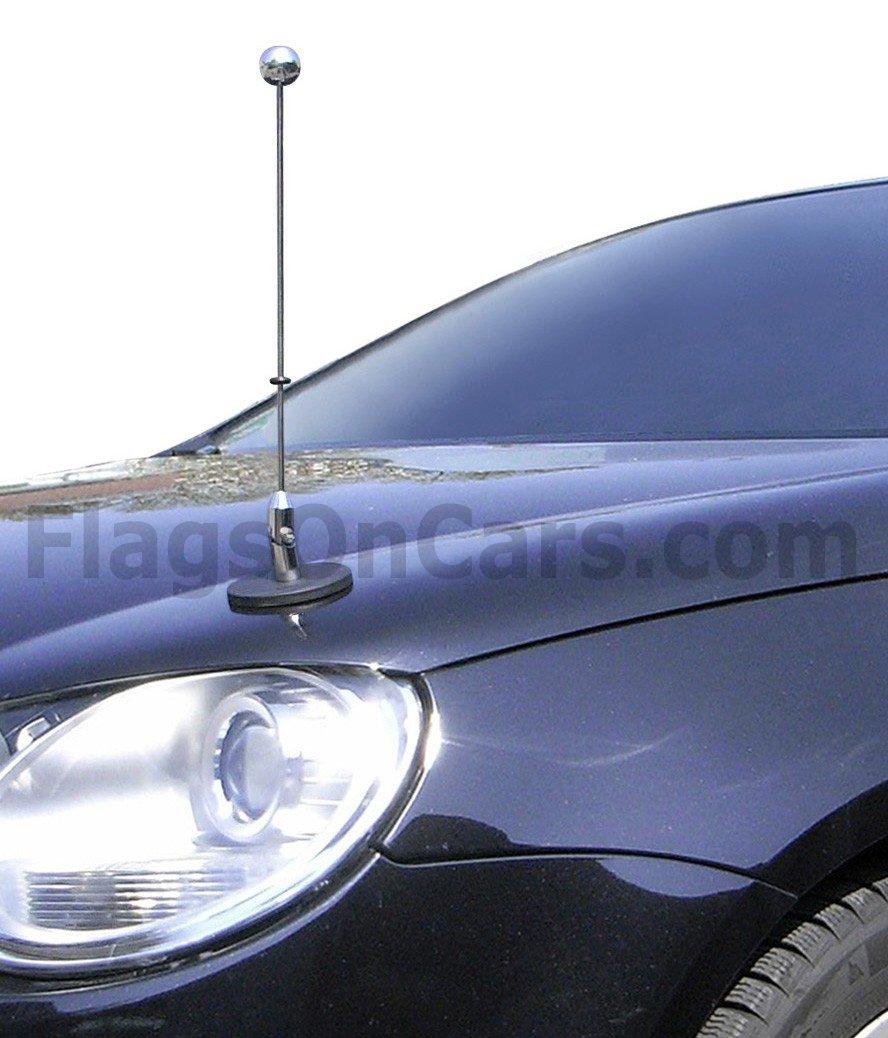 Magnetic Diplomat Car Pole