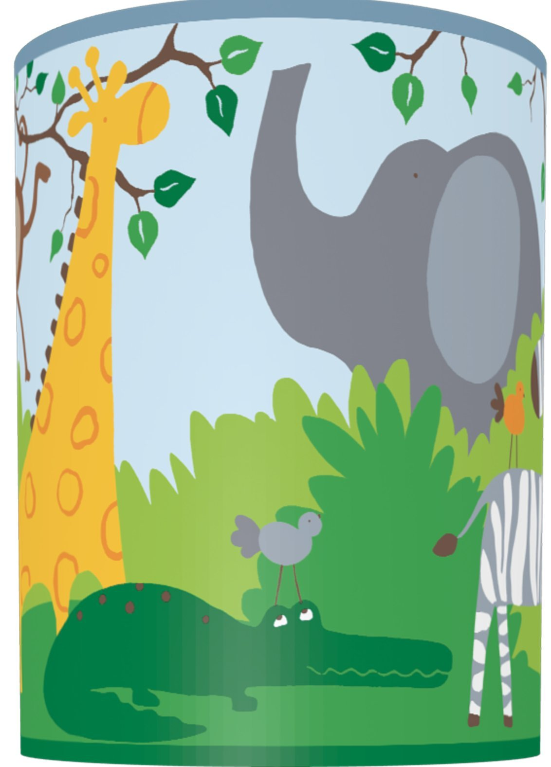 Illumalite Designs Zoo Animals Shade, 7-Inch