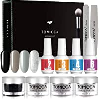 TOMICCA Nail Dipping Powder System of 4 Colors 0.52oz Acrylic Powder