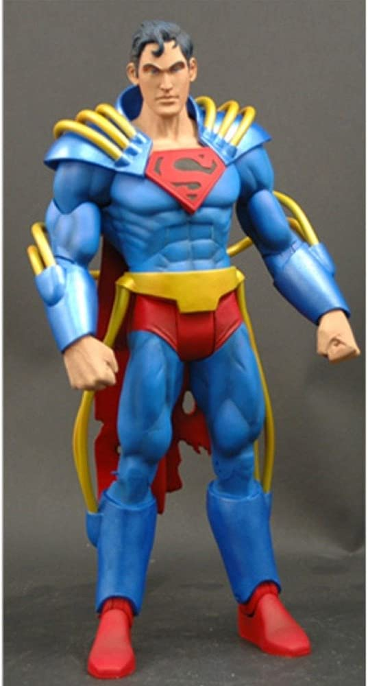 Dc Superhero Best of Superboy Prime Figure with Collector Magazine #39