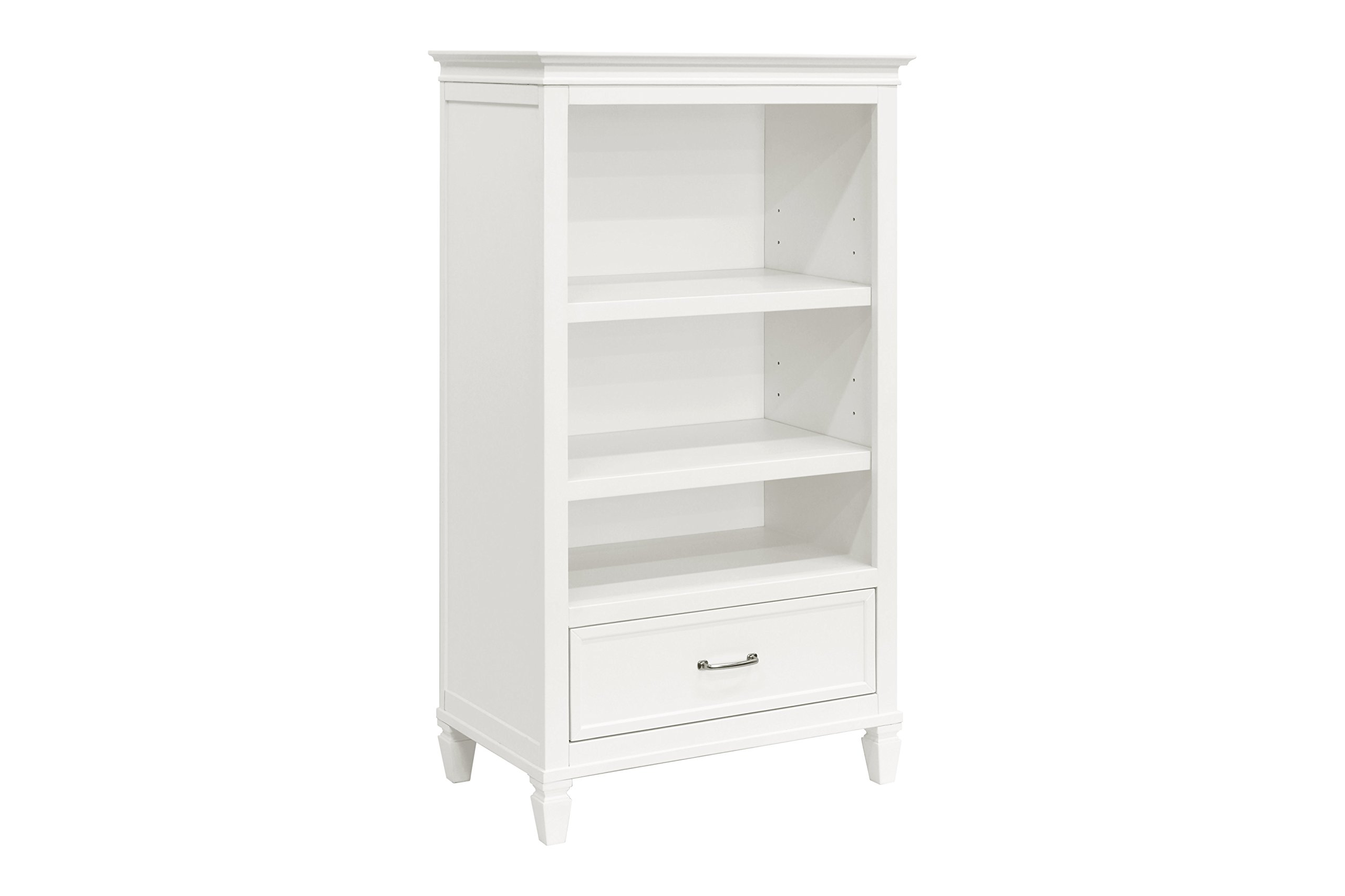 Million Dollar Baby Darlington Bookcase, Warm White