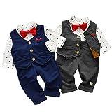 Kanodan Baby Boy Waistcoat Gentleman Suit Long