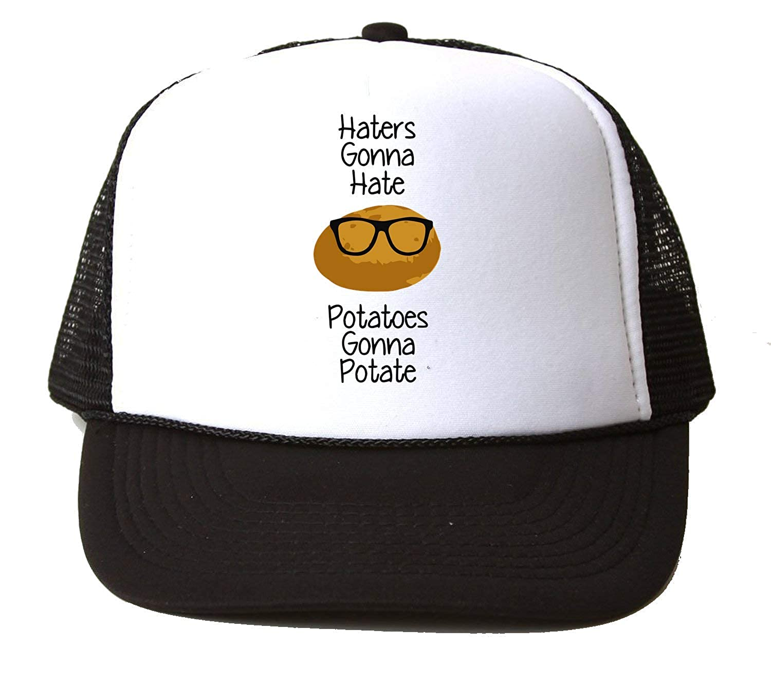 Haters Gonna Hate Potatoes Gonna Potate Baseball Cap Hat Gorra ...