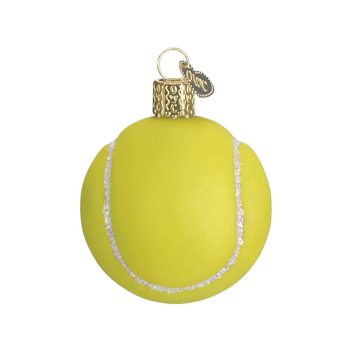 Tennis christmas ornaments - Amazon Com Old World Christmas Tennis Ball Glass Blown Ornament Home Kitchen