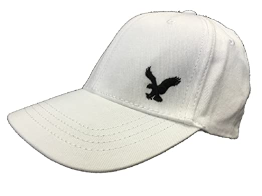 Image Unavailable. Image not available for. Colour  Original American Eagle  Outfitters White Embroidered AE Logo Baseball Cap fd706200245a