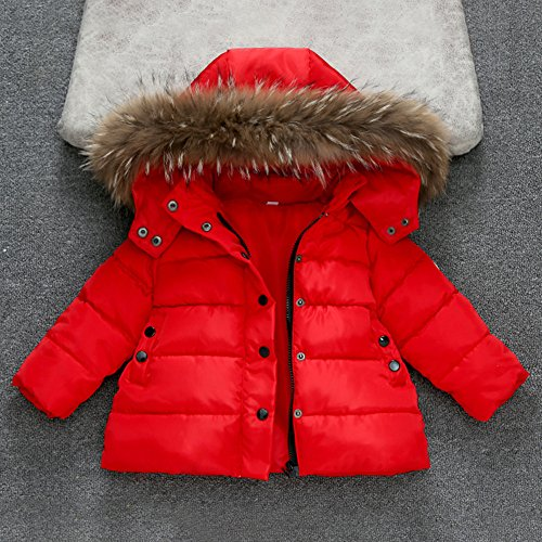 Amazon.com: Kimanli Kids Coat, Boys Girls Fashion Winter Cotton Jackets Tops Warm Waistcoat Thick Coat: Clothing