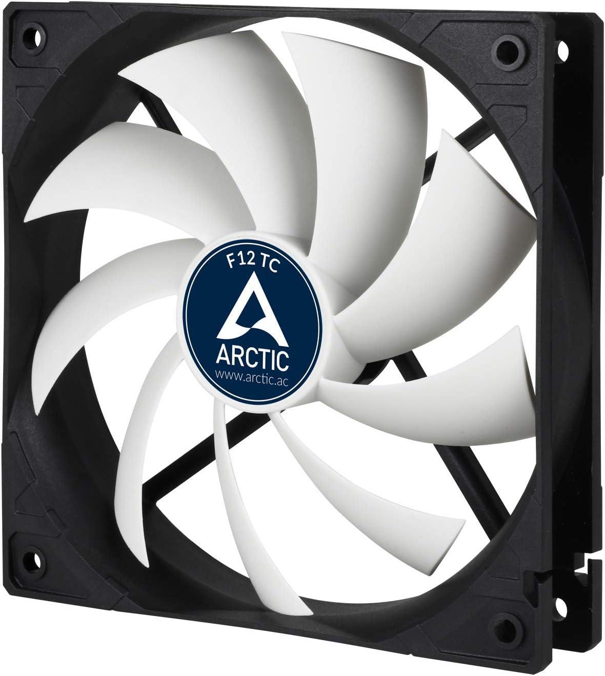 ARCTIC F12 TC - Ventilador Caja estándar de 120 mm, Extremadamente ...