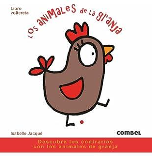 Los animales de la granja: Libro voltereta (Spanish Edition)