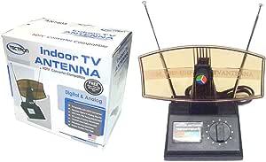 Antenna Tv Indoor Ant-850 HDTV Converter Compatible, Digital & Analog, Adjustable Dual Antennas
