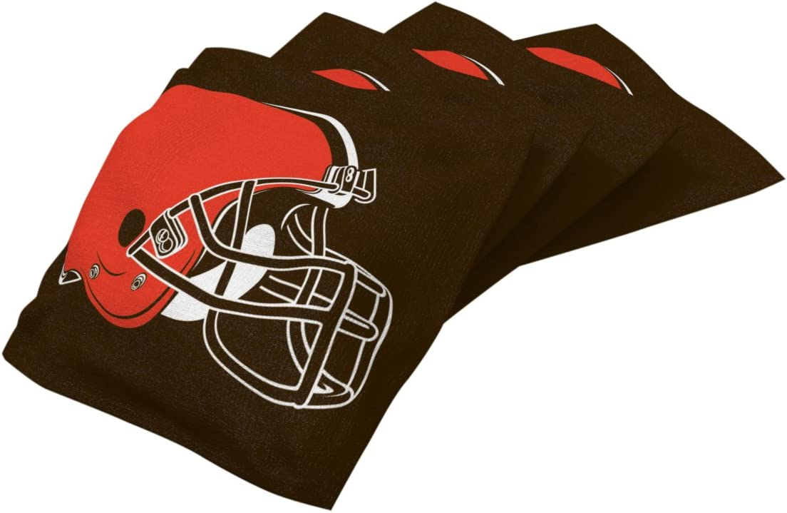 4 Pack Wild Sports NFL Authentic Cornhole Bean Bag Set
