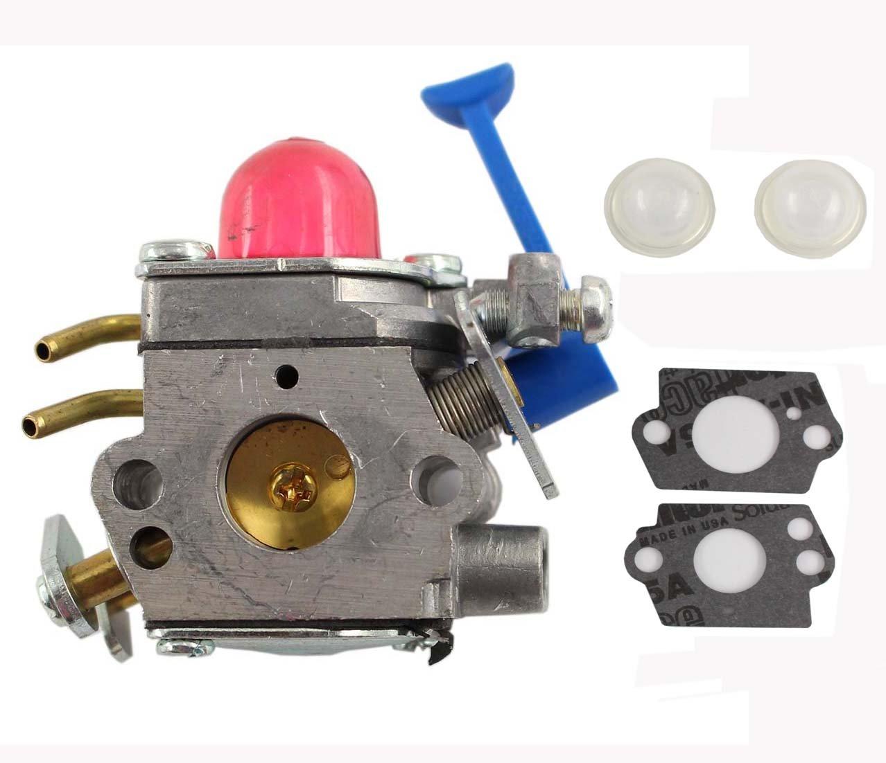 XA Carburetor Carb For Husqvarna 124L 124C 125C 125E 125L 125LD 128CD 128LDX 128DJX Replace Husqvarna 545006060 Zama C1Q-W31B