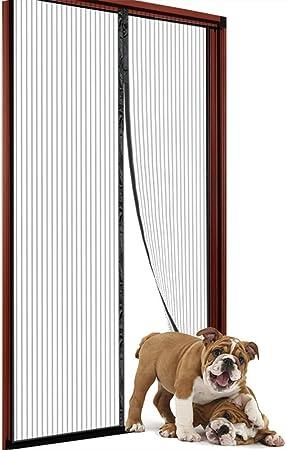 Puerta de pantalla magnética de 36 x 82 pulgadas para puerta corredera de cristal, puertas francesas, puertas de patio: Amazon.es: Bricolaje y herramientas