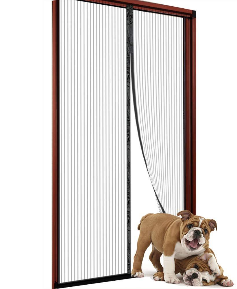 Magnetic Screen Door 35x82 for Sliding Glass Door, French Doors, Patio Doors EHBHJHNH-02 by WUJOMZ