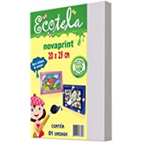 Tela para pintura em papel - 20x29cm - Ecotela - Novaprint