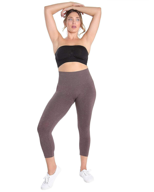 SlimMe MeMoi High Waist Control Shapewear Leggings | Women's Body Shapewear