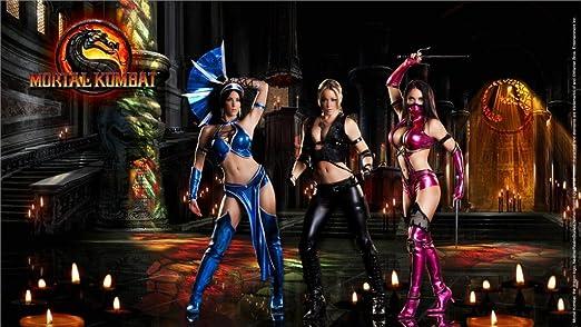 Amazon Com Da Bang Mortal Kombat Sonya Blade Mileena Kitana