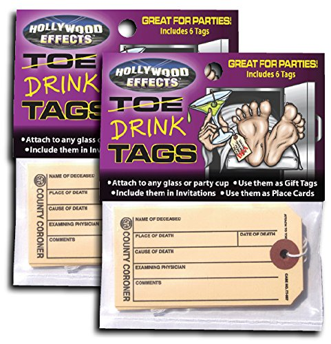 Hollywood Effects Toe / Drink Tags -