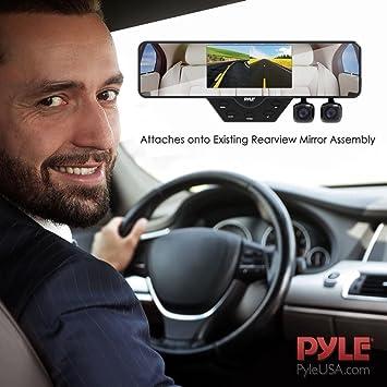Camara Para Carro Camara Trasera Espejo Retrovisor Impermeable Vision Noche DVR