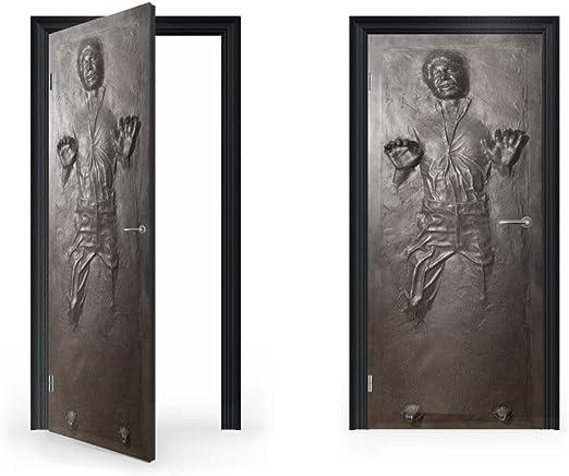 Han Solo Frozen In Carbonite Premium METAL Poster Art Print Plaque Gift